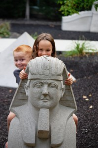 The Sphinx and grandkids