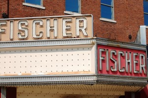 The Old Fisher Theater in downtown Danville