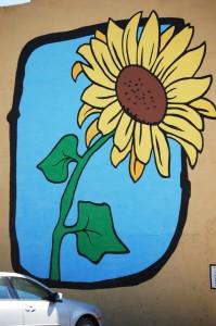Flower Wall Mural - Eldon, IA