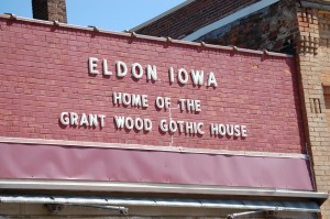Eldon, Iowa - Home of the Grant Wood Gothic House