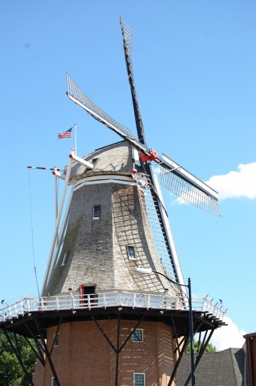 Vermeer Dutch Windmill in Pella, IA - the largest working windmill in the United States