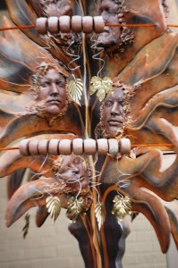 Detail of Spirits of the Wind