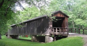 Locust Creek Covered Bridge, Missouri