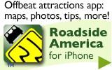 Roadside America iPhone app