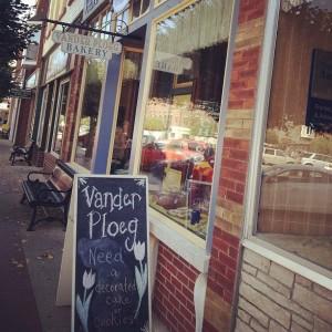 Vander Ploeg Bakery in Pella, IA