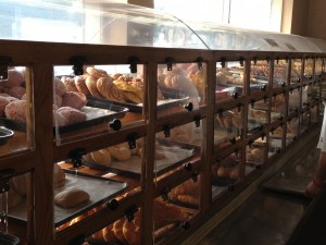 Shelves of Mexican pastries and breads at the International Bakery in Omaha