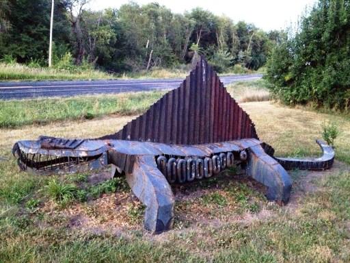 """Dimetrodon"" by Larry Vennard"
