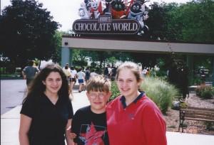 Hershey's Chocolate World in Hershey, PA June 1998