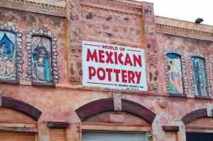 Mexican Pottery shop in Little Mexico