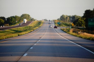 I-29 north heading to Council Bluffs