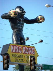 King Kong Burgers in Omaha, near the Omaha Zoo