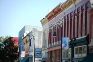 Haymarket District Storefronts - COuncil Bluffs