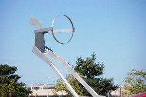 Interstate by William King at entrance to Mid-America Center in Council Bluffs, IA