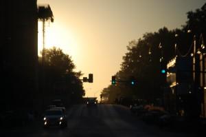 Sunrise in Columbia, MO
