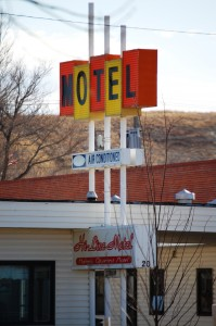 Motel in Havre, Montana