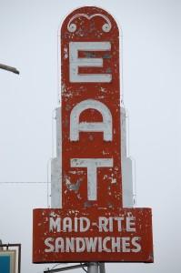 Maid-Rite Sandwiches - Lexington, Missouri