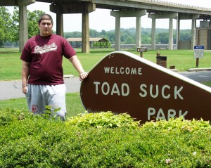 Solomon in Toad Suck, Arkansas June 2007