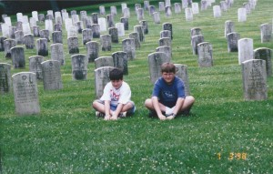 National Cemetery, Gettysburg, PA, July 1998