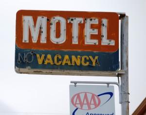 Generic Motel Sign - Shelby, Montana