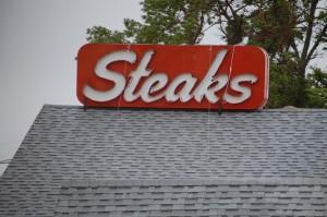 Steaks - what more needs to be said? - near Turkey Ridge, South Dakota