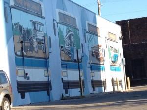 Mural at LexTran Building