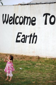 Joselyn makes a visit to Earth (TX) in April 2011