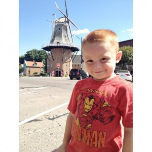 Landen goes Dutch in Pella, Iowa - Sept. 2013