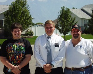 "Visiting ""Elder Kravetz"" in Sandy, Utah in Sept 2007"