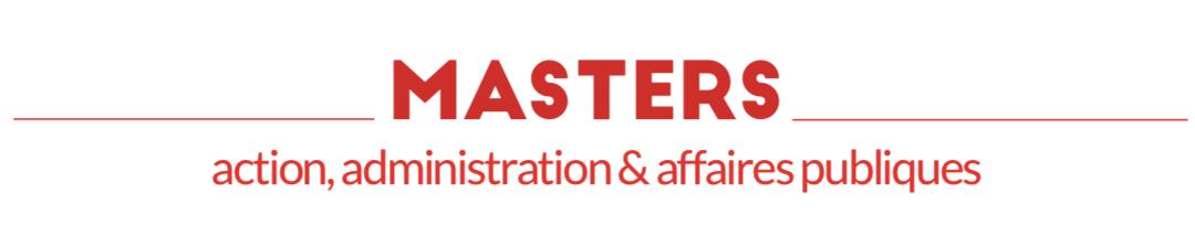 Les Masters Sciences Po #2 : action, administration & affaires publiques