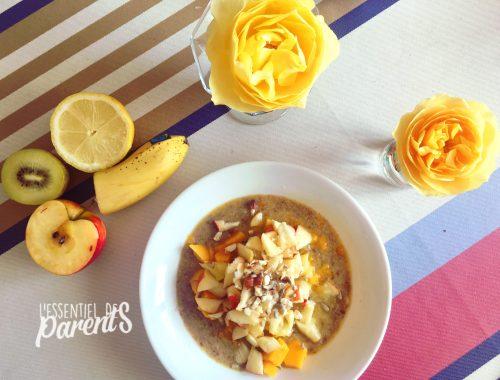 idée repas famille - simple et pas cher - healthy, sain, varié et équilibré pour parents enfant et bébé