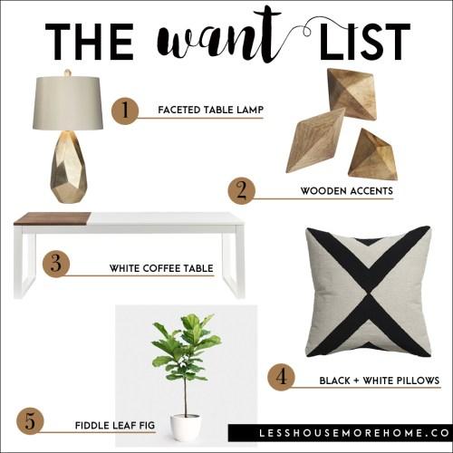 The Want List | Minimalist