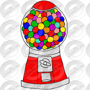 Gumball Machine Picture For Classroom Therapy Use Great Gumball Machine Clipart