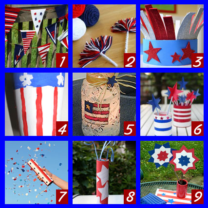 Top Kids Crafts For Fourth Of July