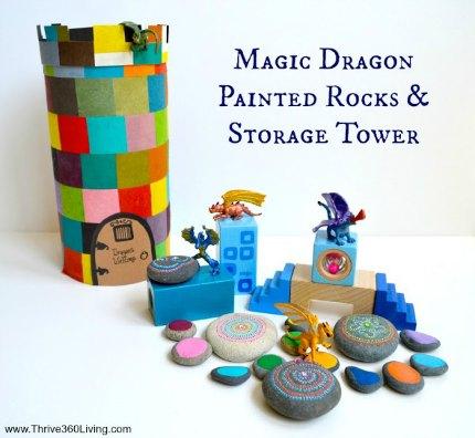 Magic Dragon Painted Rock1s - header resized