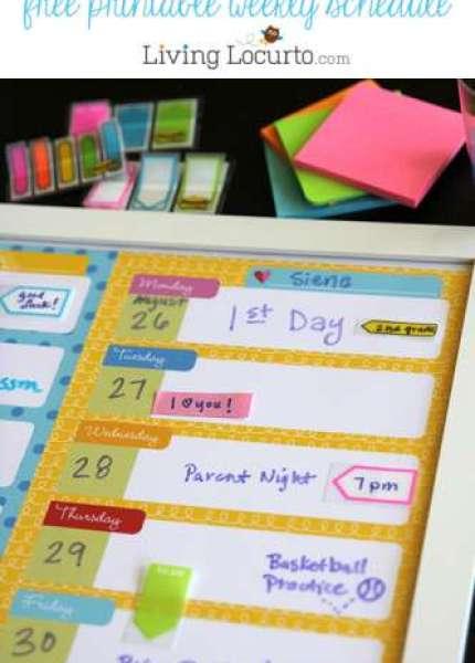 Free-School-Weekly-Calendar