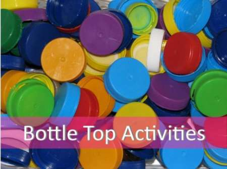 bottle-top-activities-lessons-recycled-art-craft