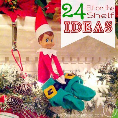 elf-on-a-shelf-ideas