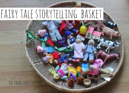 Fairytale Storytelling Basket