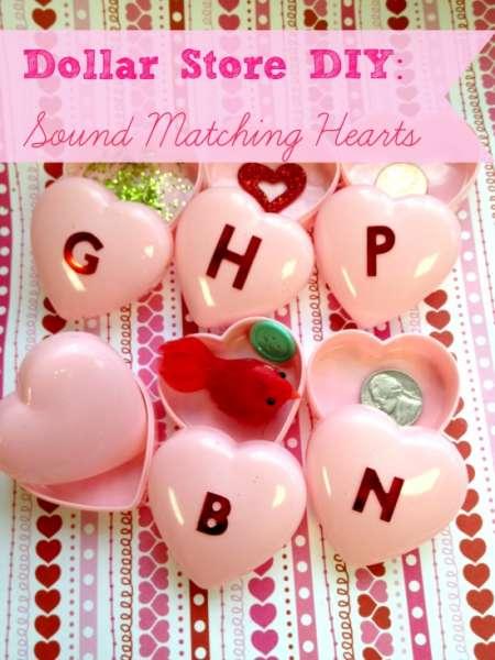 Sound Matching Valentine Hearts