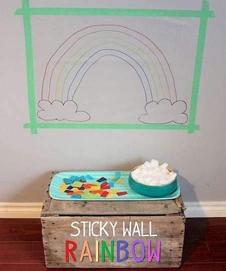 Sticky Wall Rainbow