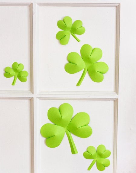 Heart Shamrock Decorations