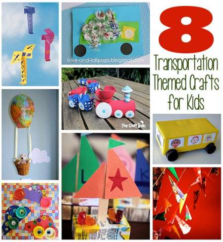 Transportation Month Crafts
