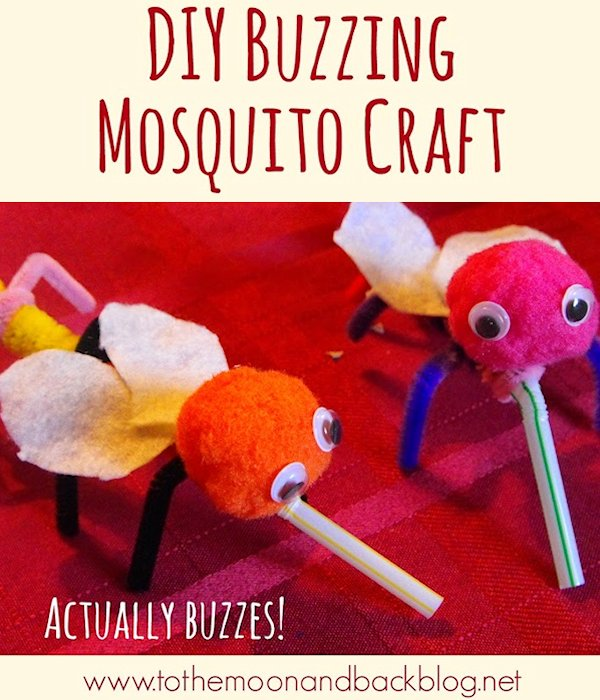 DIY Buzzing Mosquito Craft