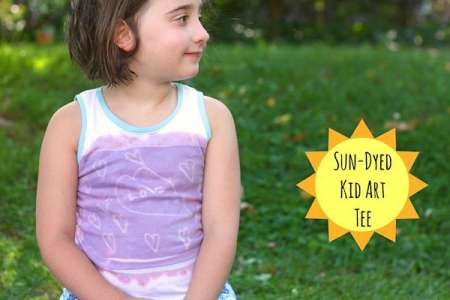 Sun-Dyed Kid Art Tanks