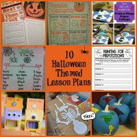 10 Halloween themed lesson plans