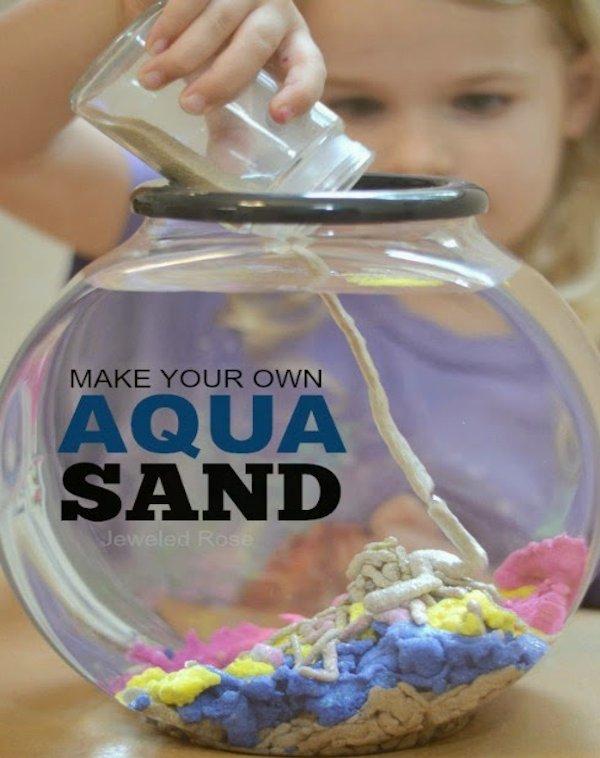 Homemade Aqua Sand