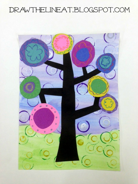Kandinsky Trees Lesson Plans