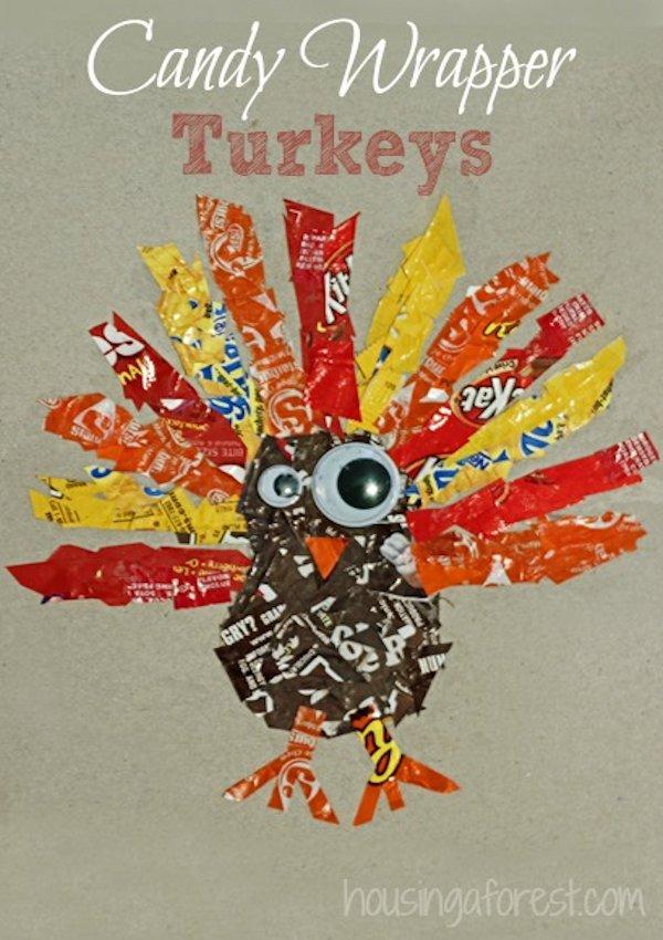 Candy Wrapper Turkey