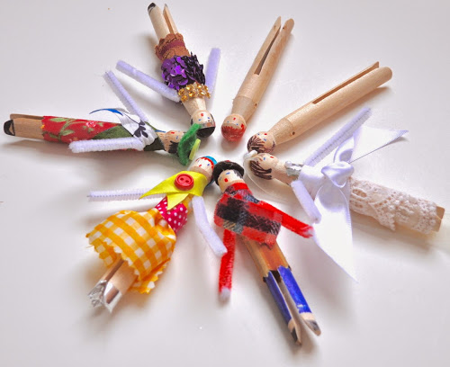 Clothes Pin Dolls
