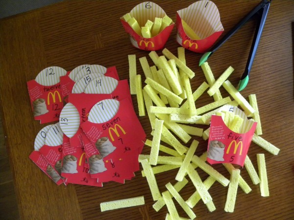 Fries for Me Math Game